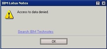 access-to-data-denied