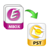 complete conversion of mbox files to pst