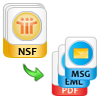 convert nsf to eml or msg