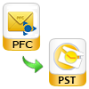 export pfc to pst