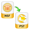 Export NSF file to PST