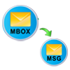 print mbox to msg