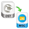 export ost to msg