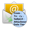 view email with attributes