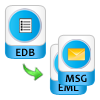 Export EDB items to EML