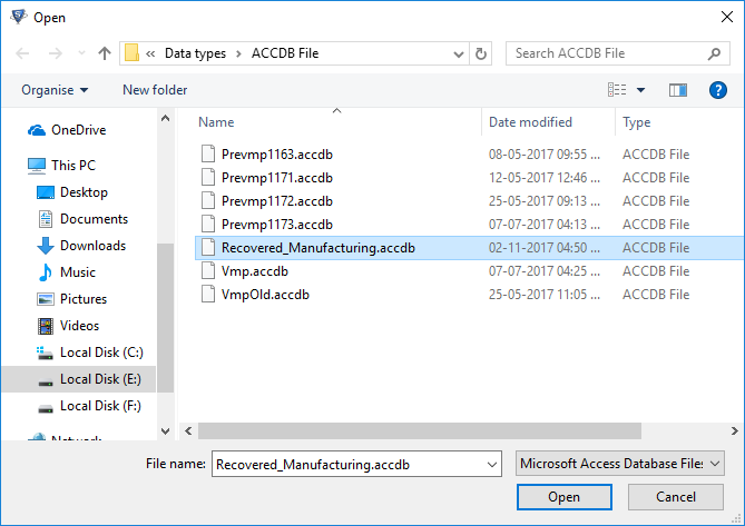 Access Database Viewer - Freeware Tool to Open & Read MDB or ACCDB Files
